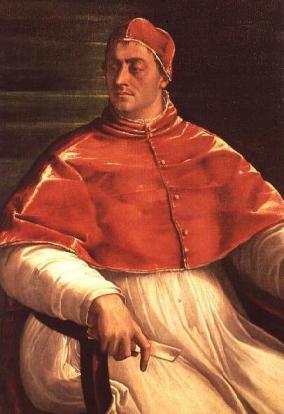 Giulio de Medice, o papa Clemente VII, manejou a diplomacia na oposição à instauração da Inquisição em Portugal ao modelo espanhol. Ntas de Cecil Roth em